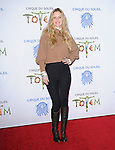 Kristin Bauer attends Totem from Cirque du Soleil Premiere at Santa Monica Pier in Santa Monica, California on January 21,2014                                                                               © 2014 Hollywood Press Agency