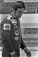 INDIANAPOLIS, IN - MAY 29: Al Unser walks through the pit lane before practice for the Indianapolis 500 on May 29, 1977, at the Indianapolis Motor Speedway in Indianapolis, Indiana.