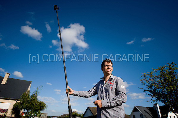 360° photographer Pierre Vancampo, owner of the company zebi.be (Belgium, 31/08/2013)