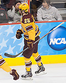 Justin Kloos (MN - 25) - The Union College Dutchmen defeated the University of Minnesota Golden Gophers 7-4 to win the 2014 NCAA D1 men's national championship on Saturday, April 12, 2014, at the Wells Fargo Center in Philadelphia, Pennsylvania.