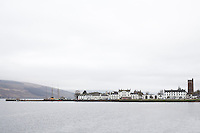 View of the town of Inverary across Loch Fyne