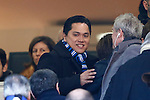 Erick Thohir in action during the Serie A football match Inter Milan vs Cagliari at Milan, on February 23, 2014.  <br /> <br /> Pierre Teyssot