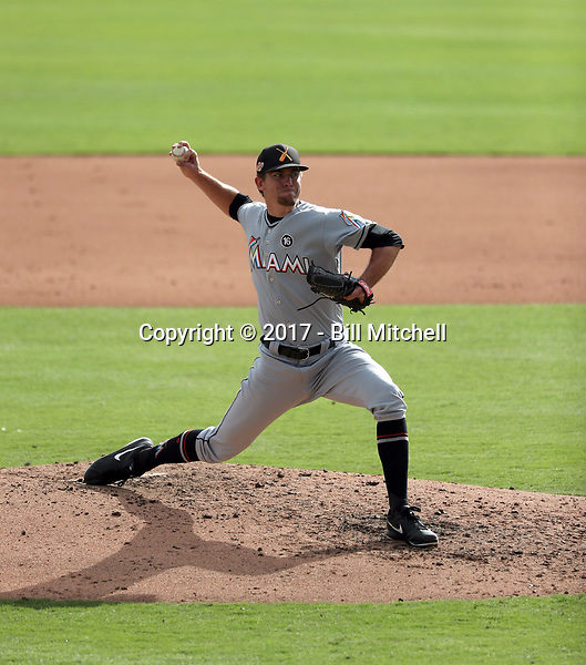 Ben Meyer - Salt River Rafters - 2017 Arizona Fall League (Bill Mitchell)
