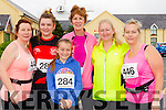 Anna Sheehy, Ciara Finn, Marian Finn, Brenda O'Connell, Ethal Meehan and Helen Finn (all from Tralee) who took part in the Blennerville 10k run on Sunday morning.