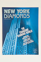 NEW YORK DIAMONDS - Trade magazine to the wholesale diamond industry, New York City<br /> <br /> Cover of June/July 1996 issue<br /> <br /> Photo available from Getty Images.  Please search for image # 487970 on www.gettyimages.com.