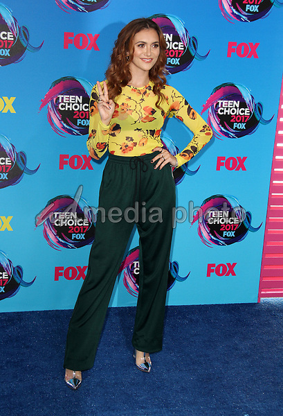 13 August 2017 - Los Angeles, California - Alyson Stoner. Teen Choice Awards 2017 Arrivals held at The Galen Center in Los Angeles. Photo Credit: AdMedia