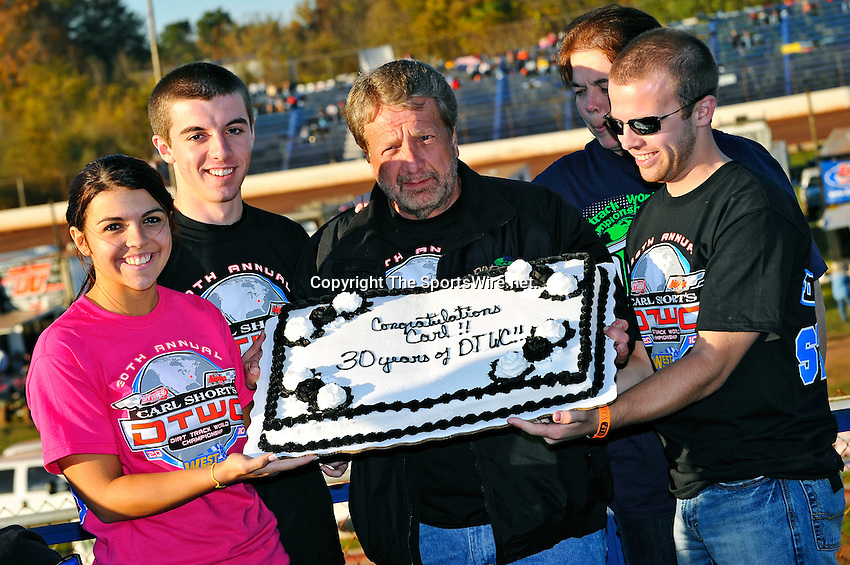 Oct 16, 2010; 5:46:03 PM;Mineral Wells,WV ., USA; The 30th Annual Dirt Track World Championship dirt late models 50,000-to-win event at the West Virginia Motor Speedway.  Mandatory Credit: (thesportswire.net)
