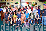 DOUBLE BIRTHDAY: Liam Murphy and Mags O'Connor, Tralee (seated 4th & 5th left) having agreat time celebrating their 30th birthdays with family and friends at the Na Gaeil clubhouse, Tralee on Sunday.