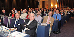 5-3-2012 HOTELIERS CONFERNCE KILKENNY MONDAY: Hoteliers pictured listening to President Higgins at the IHF conference in the Hotel Kilkenny on Monday..Picture by Don MacMonagle...pic from IHF