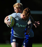 Rory Jennings of Bath Rugby in action. Bath Rugby pre-season training session on August 9, 2016 at Farleigh House in Bath, England. Photo by: Patrick Khachfe / Onside Images