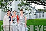 Class Reunion : Members of the Class reunion committee pictured outside the Convent of Mercy who were meeting to organize the reunion of the 1974Junior Certificate & the 1976 Leaving Certificate  classes to be held shortly in Abbeyfeale. L-R : Marie Gleeson, Breda O'Callaghan  & Noreen McEnery...Ref Owen.