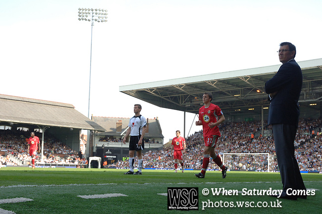 Fulham 1 Blackburn Rovers 1, 21/04/2007. Craven Cottage, Premier League. Photo by Simon Gill.