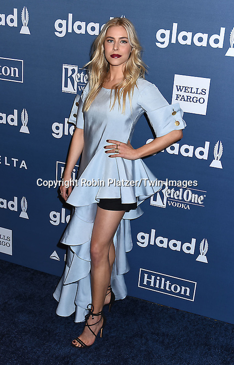 Alexandra Turshen of &quot;Boy Meets Girl&quot; attends the 27th Annual GLAAD Media Awards on May 14, 2016 at the Waldorf Astoria Hotel in New York City, New York, USA.<br /> <br /> photo by Robin Platzer/Twin Images<br />  <br /> phone number 212-935-0770
