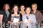 DOGS: Having a good night at the dogs at the Kingdom Greyhound Stadium Tralee on Friday night, Front l-r: Ann Ferris (Dingle) and Caroline Williams (killorglin). Back l-r: Noreen Fitzgerald, Marguerite Corcoran and Anna Hoare (Killorglin)...   Copyright Kerry's Eye 2008