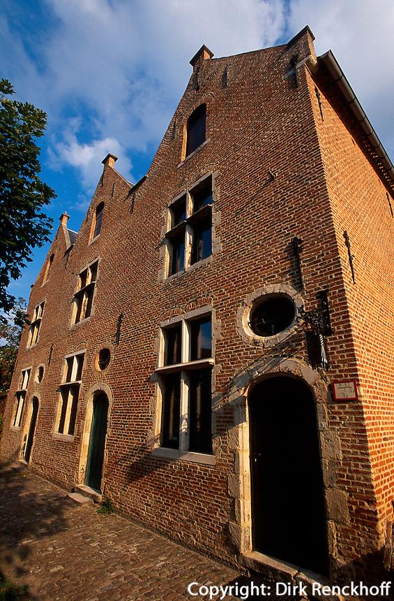 Belgien, Flandern, im Beginenhof in Diest, UNESCO-Weltkulturerbe