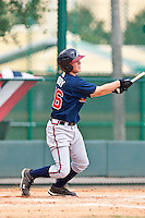 Brandon Drury of the Gulf Coast League Braves during the game against the Gulf Coast League Tigers July 3 2010 at the Disney Wide World of Sports in Orlando, Florida.  Photo By Scott Jontes/Four Seam Images