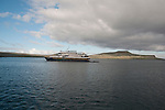 national geographic islander in Post office bay of Floreana island, Galapagos