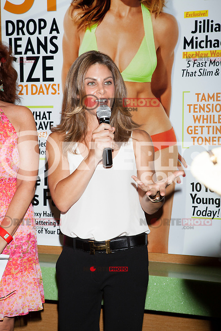NEW YORK, NY AUGUST 9: Jillian Michaels and Shape Magazine host an intimate event promoting her cover issue at Crunch Gym in New York City. August 9, 2012. © Diego Corredor/MediaPunch Inc.
