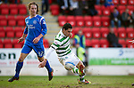 St Johnstone v Celtic.....12.04.11.Beram Kayal scores for Celtic.Picture by Graeme Hart..Copyright Perthshire Picture Agency.Tel: 01738 623350  Mobile: 07990 594431