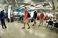 Chicago, IL - July 14, 2018: U.S. Soccer hosts the first-ever soccer-specific Hackathon in North America, at the 1871 in Chicago, IL.