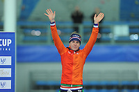 SPEED SKATING: STAVANGER: Sørmarka Arena, 31-01-2016, ISU World Cup, Podium 3000m Ladies Division A, Ireen Wüst (NED), ©photo Martin de Jong