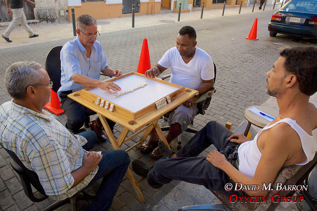 Men Playing Dominoes