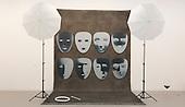 London, England. 14 October 2014. The Unsub Inverted, 2014, by Amanda Ross-Ho. Frieze Art Fair 2014 opens in Regent's Park, London. Photo: Bettina Strenske