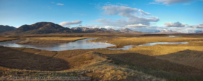 Nigu river, National Petroleum Reserve, Alaska.