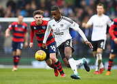 17th March 2018, Craven Cottage, London, England; EFL Championship football, Fulham versus Queens Park Rangers; Ryan Sessegnon of Fulham sprinting with the ball