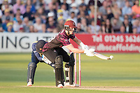 Tom Abell of Somerset CCC toe ends an attempted scoop during Essex Eagles vs Somerset, Vitality Blast T20 Cricket at The Cloudfm County Ground on 7th August 2019