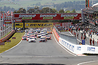 2016 Supercheap Auto Bathurst 1000. Round 2 of the Pirtek Enduro Cup. Race Start.