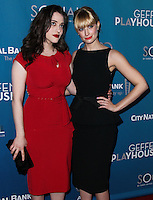 "WESTWOOD, LOS ANGELES, CA, USA - MARCH 22: Kat Dennings, Beth Behrs at the Geffen Playhouse's Annual ""Backstage At The Geffen"" Gala held at Geffen Playhouse on March 22, 2014 in Westwood, Los Angeles, California, United States. (Photo by Xavier Collin/Celebrity Monitor)"