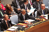 United States President Barack Obama chairs the United Nations Security Council summit cracking down on foreign terrorist fighters at the United Nations 69th General Assembly in New York, New York on Wednesday, September 24, 2014. <br /> Credit: Allan Tannenbaum / Pool via CNP