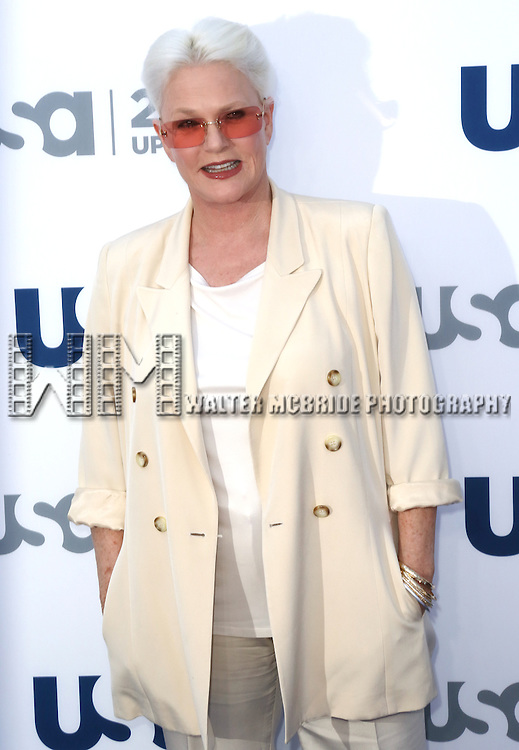 Sharon Gless attending the USA Network 2013 Upfront Event at Pier 36 - Basketball City in New York City on May 16, 2013.