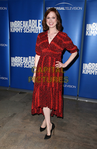 "29 May 2019 - Los Angeles, California - Ellie Kemper. NBC FYC Series ""Unbreakable Kimmy Schmidt"" held at UCB Sunset Theatre.   <br /> CAP/ADM/FS<br /> ©FS/ADM/Capital Pictures"