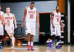S&ouml;dert&auml;lje 2014-10-11 Basket Basketligan S&ouml;dert&auml;lje Kings - Ume&aring; BSKT :  <br /> Ume&aring;s Egal Saleman under matchen mellan S&ouml;dert&auml;lje Kings och Ume&aring; BSKT <br /> (Foto: Kenta J&ouml;nsson) Nyckelord:  S&ouml;dert&auml;lje Kings SBBK Basket Basketligan T&auml;ljehallen Ume&aring; BSKT depp besviken besvikelse sorg ledsen deppig nedst&auml;md uppgiven sad disappointment disappointed dejected