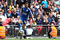 Riyad Mahrez of Leicester City during Tottenham Hotspur vs Leicester City, Premier League Football at Wembley Stadium on 13th May 2018