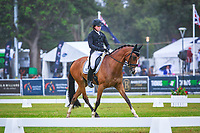 AUS-Callum Buczak rides Matavia Cheval during the CIC3* Dressage. 2017 AUS-Mitsubishi Motors Australian International 3 Day Event. Victoria Park, Adelaide. Friday 17 November. Copyright Photo: Libby Law Photography