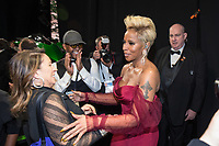 Oscar&reg; nominee Mary J. Blige backstage at The 90th Oscars&reg; at the Dolby&reg; Theatre in Hollywood, CA on Sunday, March 4, 2018.<br /> *Editorial Use Only*<br /> CAP/PLF/AMPAS<br /> Supplied by Capital Pictures