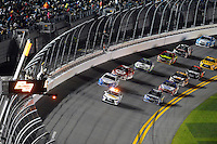 12-13 February, 2016, Daytona Beach, Florida, USA<br /> The Toyota Camry Pace Car leads polesitter Jimmie Johnson and Brad Keselowski on the Pace Lap.<br /> ©2016, F. Peirce Williams