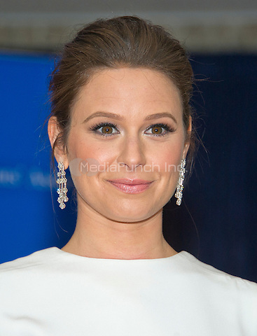 Katie Lowes arrives for the 2016 White House Correspondents Association Annual Dinner at the Washington Hilton Hotel on Saturday, April 30, 2016.<br /> Credit: Ron Sachs / CNP<br /> (RESTRICTION: NO New York or New Jersey Newspapers or newspapers within a 75 mile radius of New York City)/MediaPunch