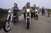 "- group of ""bikers"" motorcyclists in province of Udine ....- gruppo di motociclisti ""bikers"" in provincia di Udine"