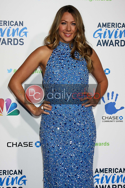 LOS ANGELES - DEC 7:  Colbie Caillat arrives to the 2012 American Giving Awards at Pasadena Civic Center on December 7, 2012 in Pasadena, CA