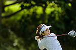 Ayano Mochizuki of Japan tees off during the first round of the EFG Hong Kong Ladies Open at the Hong Kong Golf Club Old Course on May 11, 2018 in Hong Kong. Photo by Marcio Rodrigo Machado / Power Sport Images