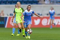 Bridgeview, IL - Wednesday August 16, 2017: Vanessa DiBernardo during a regular season National Women's Soccer League (NWSL) match between the Chicago Red Stars and the Seattle Reign FC at Toyota Park. The Seattle Reign FC won 2-1.