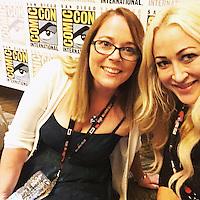"Carrie Henn, Jennifer Blanc-Biehn<br /> at the ""Aliens"" 30th Anniversary Reunion at San Diego Comic-Con, San Diego, CA 07-23-16<br /> David Edwards/Dailyceleb.com 818-249-4998"