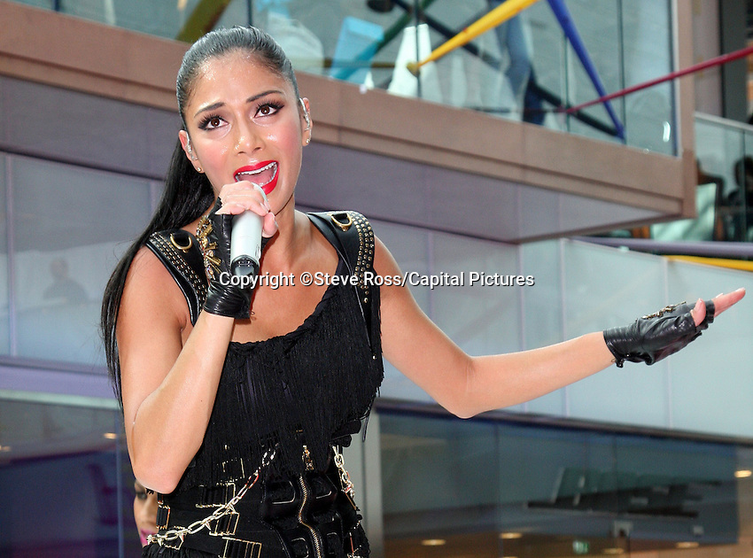 London - Nicole Scherzinger performs at opening of Westfield Stratford City Shopping Centre, Stratford, London - September 13th 2011.CAP/ROS.©Steve Ross/Capital Pictures