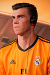 Real Madrid´s Gareth Bale during the official presentation of the Adidas team´s football kit for the 2013-14 Champions League season in Europe tower, Madrid. September 12, 2013. (ALTERPHOTOS/Victor Blanco)