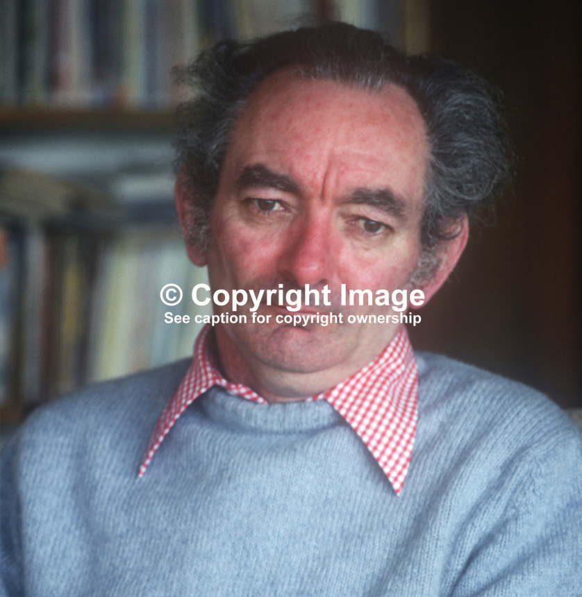 Brian Friel, playwright, born Omagh, Co Tyrone, N Ireland, 197803000095BF5.<br />