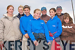 SADDLE UP: Representing Dingle Horse Riding Stables at the Bean Ban Strand race meeting on Sunday were front l-r: Michelle Leahy, Fiadh Brosnan, Shonagh Begley, Roisin Chippendale and Sophie Thomson. Back l-r: Therese Riordan, Elaine Waters and Katie Scott.   Copyright Kerry's Eye 2008